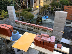bricklaying lab